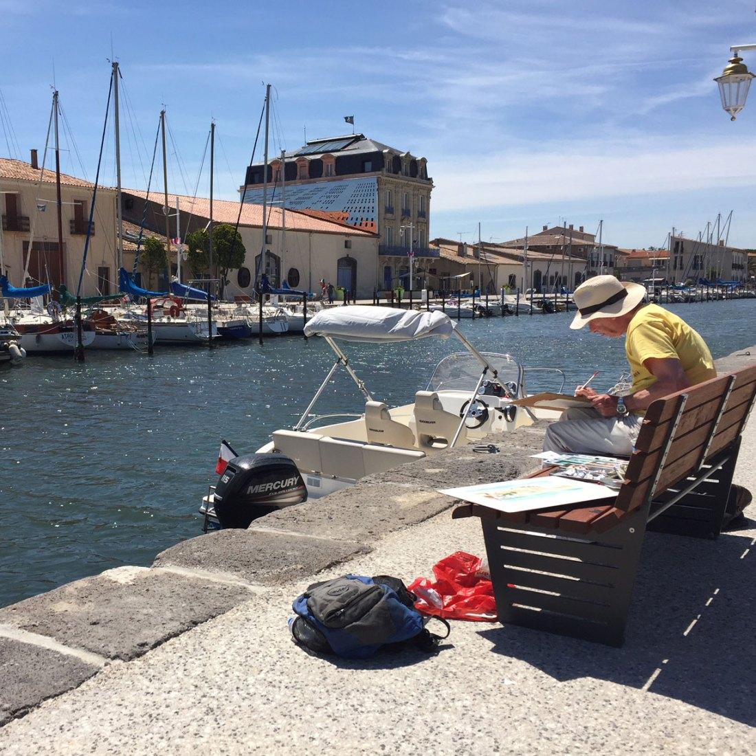 Marseillan Port - 8 day painting holiday