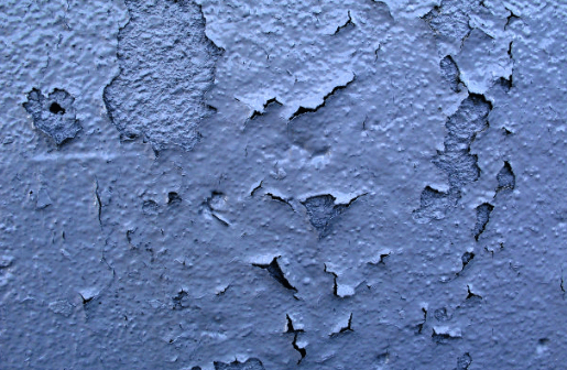 exterior paint flaking