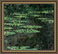 Claude Monet Waterlilies Framed Print for sale ...