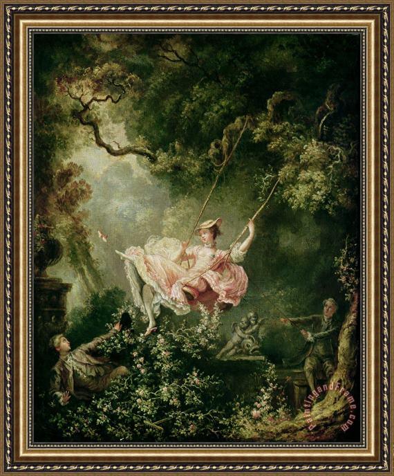 The Swing Fragonard Print | F Wall Decoration