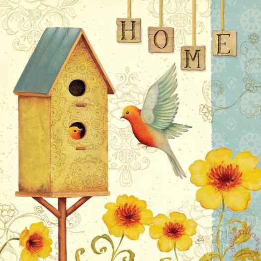 Welcome Home I Painting Daphne Brissonnet Art Print