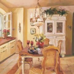 Kitchen Tables Art Van Replacing Countertops Marilyn Hageman French I Painting - ...