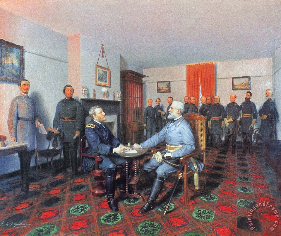 civil war appomattox 1865