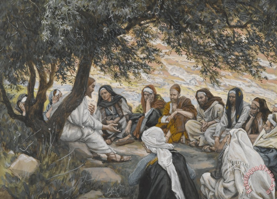 Image result for tissot the exhortation to the apostles