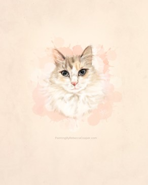 Example of Pet Portraits - Pastel Sketch