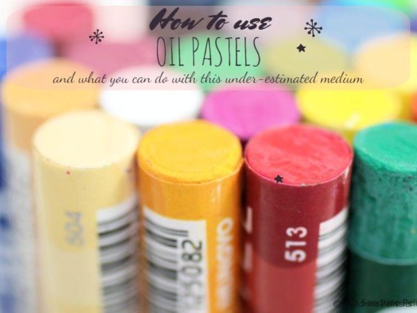 How to use oil pastels, what you can do with this under-estimated medium.