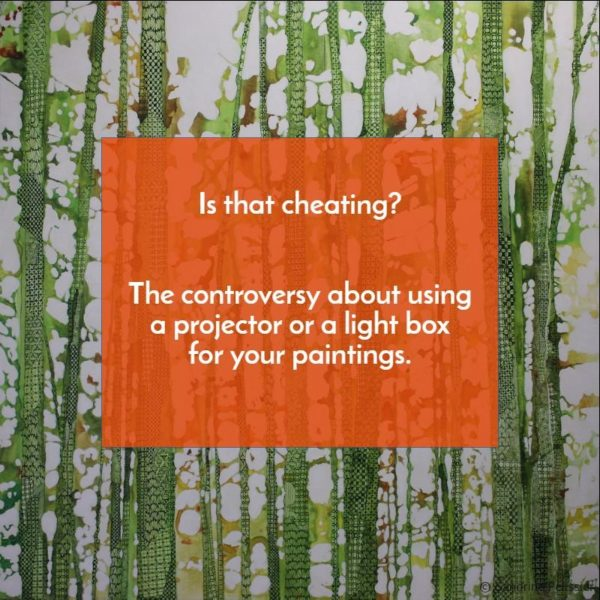 Using A Projector To Paint Cheating