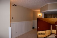 Painting Wood Ceilings, Beams, Trim