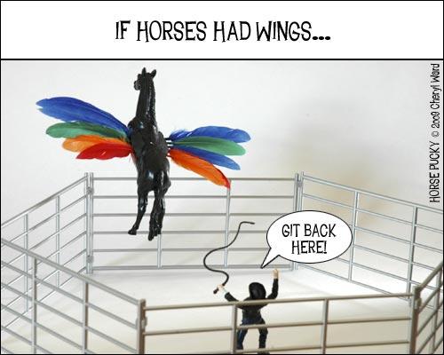 horse-wings