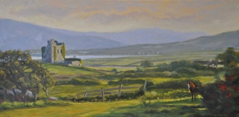 e7afd-ballycarbery-castle-at-sunset252c-ireland