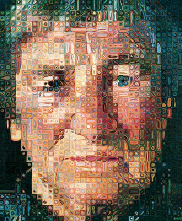 Chuck Close Painting Modern Art