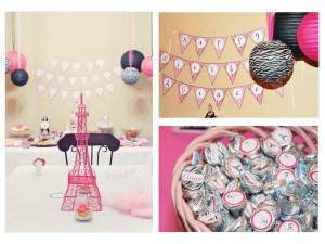 Summer In Paris Birthday Party