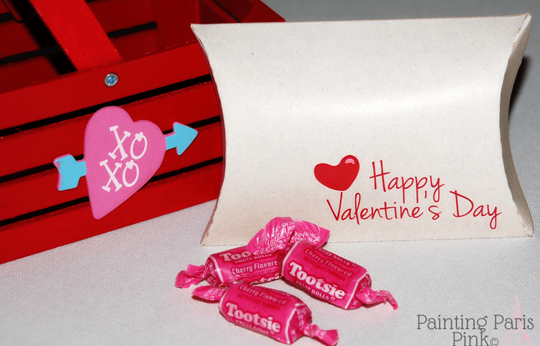 Kraft Valentine Treat Box for Goodies – Free Printable