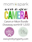 Canon or Nikon Digital Camera Bundle Giveaway