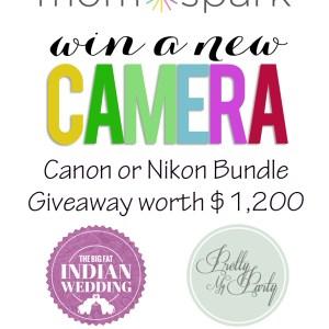 Canon or Nikon Digital Camera Bundle Giveaway