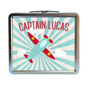 Airplane Classic Tin Lunch Box