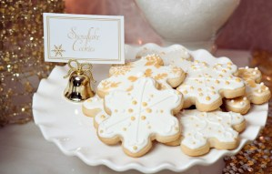 Dreaming of a White Christmas Sugar Cookies