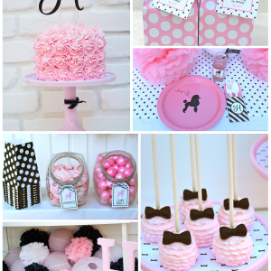 {Fab Feature} Pink Poodle Skirt Party