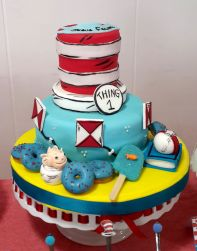 Dr. Seuss Dessert Table – Read Across America