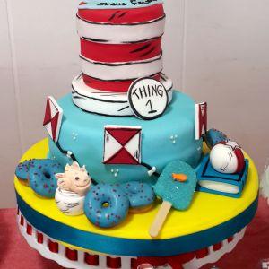 Dr. Seuss Dessert Table – Read Across America