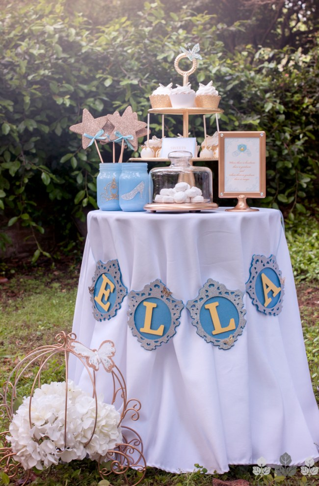 Ella Banner on Dessert Table