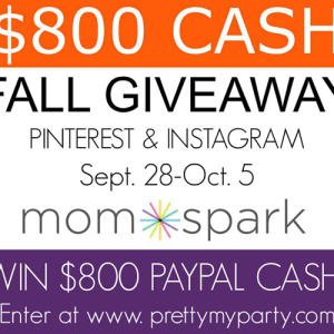 Fall 2015 Cash Giveaway