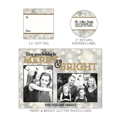 Merry & Bright Glitter Bundle
