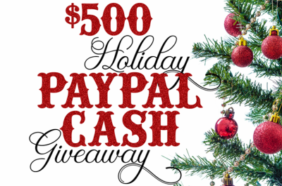 $500 Holiday Cash Giveaway