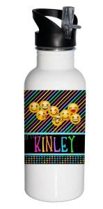 Emoji Stainless Steel 20 ounce Water Bottle