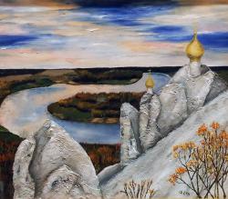 Елена Филиппова, картина На страже тишины