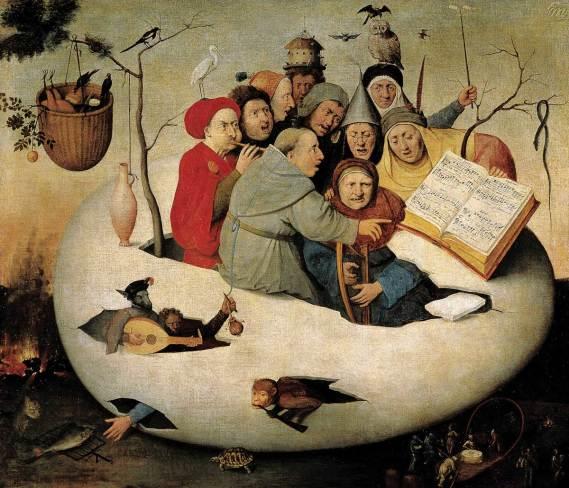 Босх, Концерт в яйце