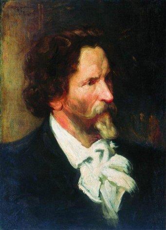 Борис Кустодиев, Портрет Репина
