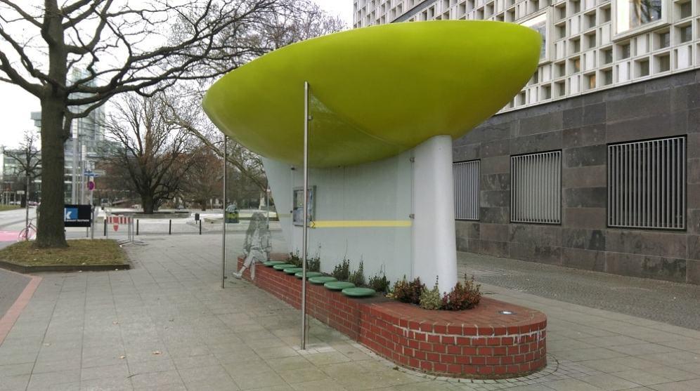 Ганновер, автобусная остановка