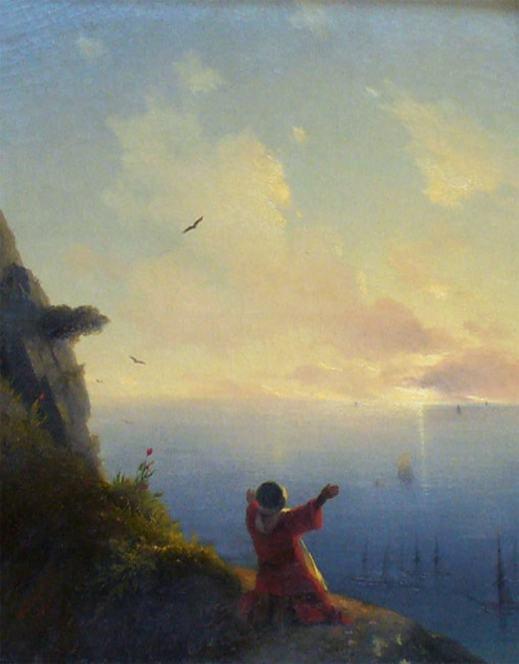Иван Айвазовский, Встреча солнца. Море