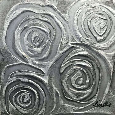Shine Bright matted painting