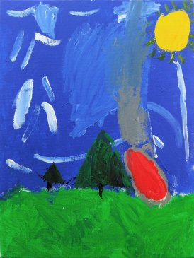 2017-03-12 - Tyler - Age 6 - 'Earth Landscape'