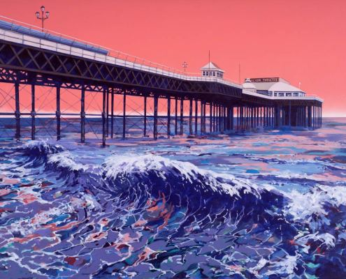 Painting of Cromer Pier