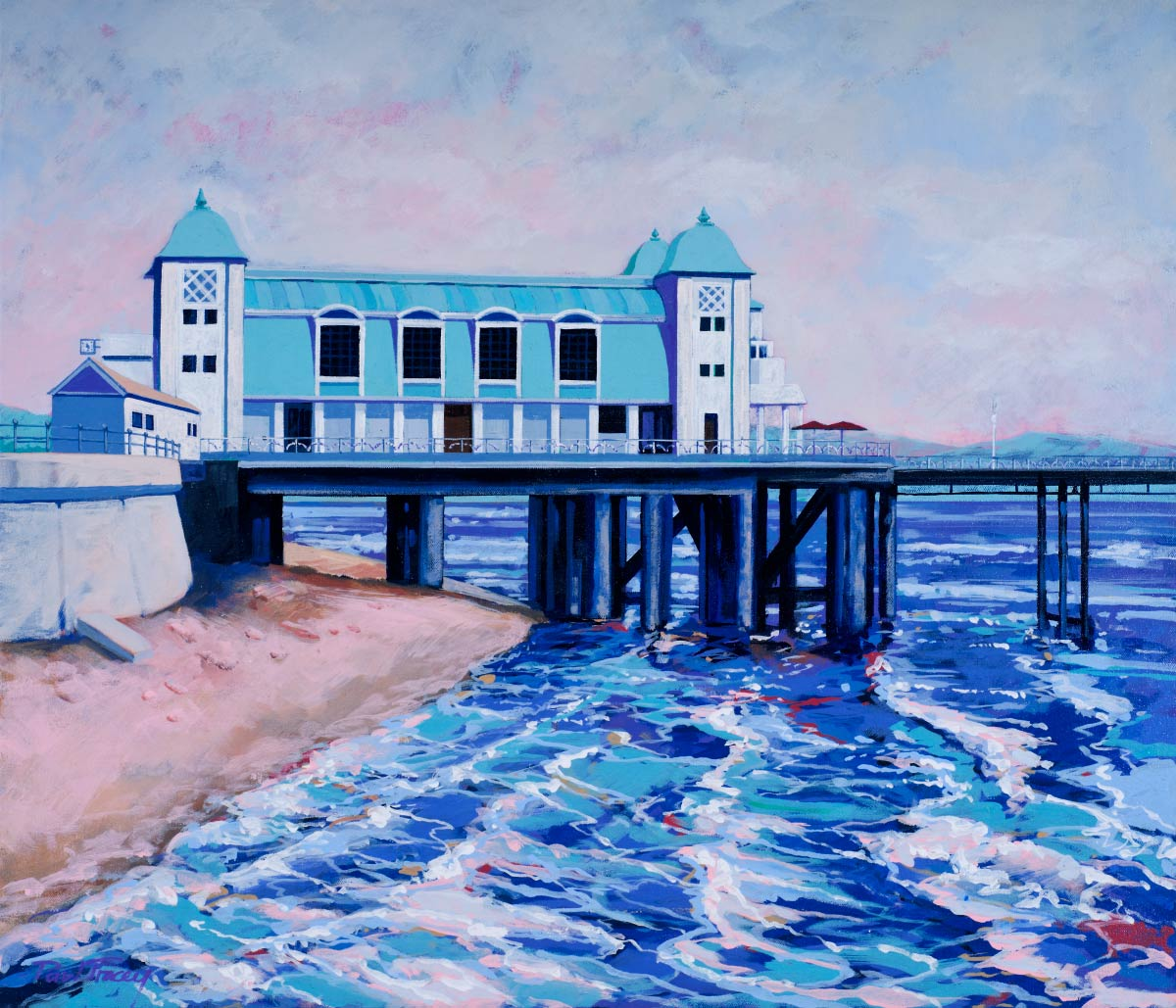 Painting of Penarth Pier