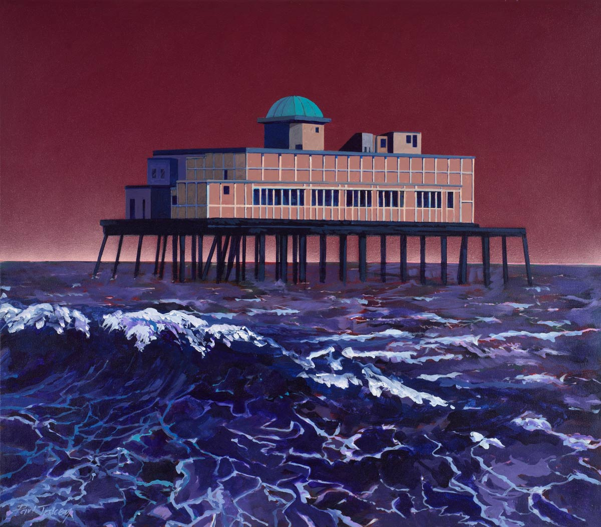 Painting of Skegness Pier