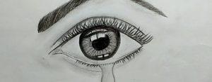 crying pencil drawing eyes eye draw beginners sketch tutorial drawings eyeball reference easy simple sad tired sketches paintingsuppliesstore