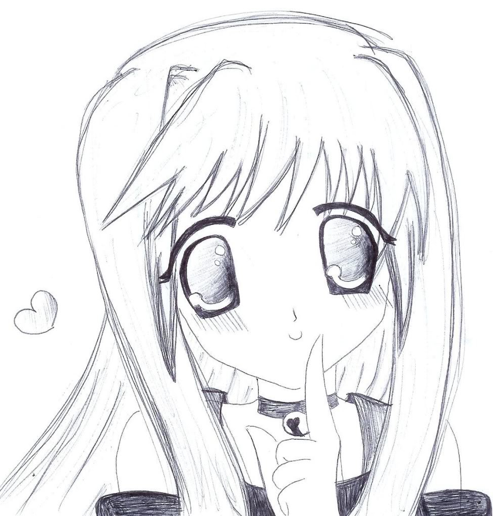 Simple Anime Girl Drawing Easy Step By Step Creative Ideas