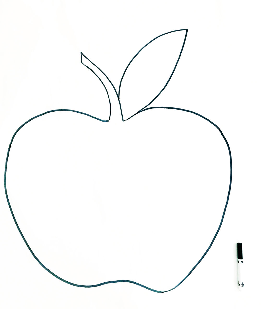 apple drawing images at
