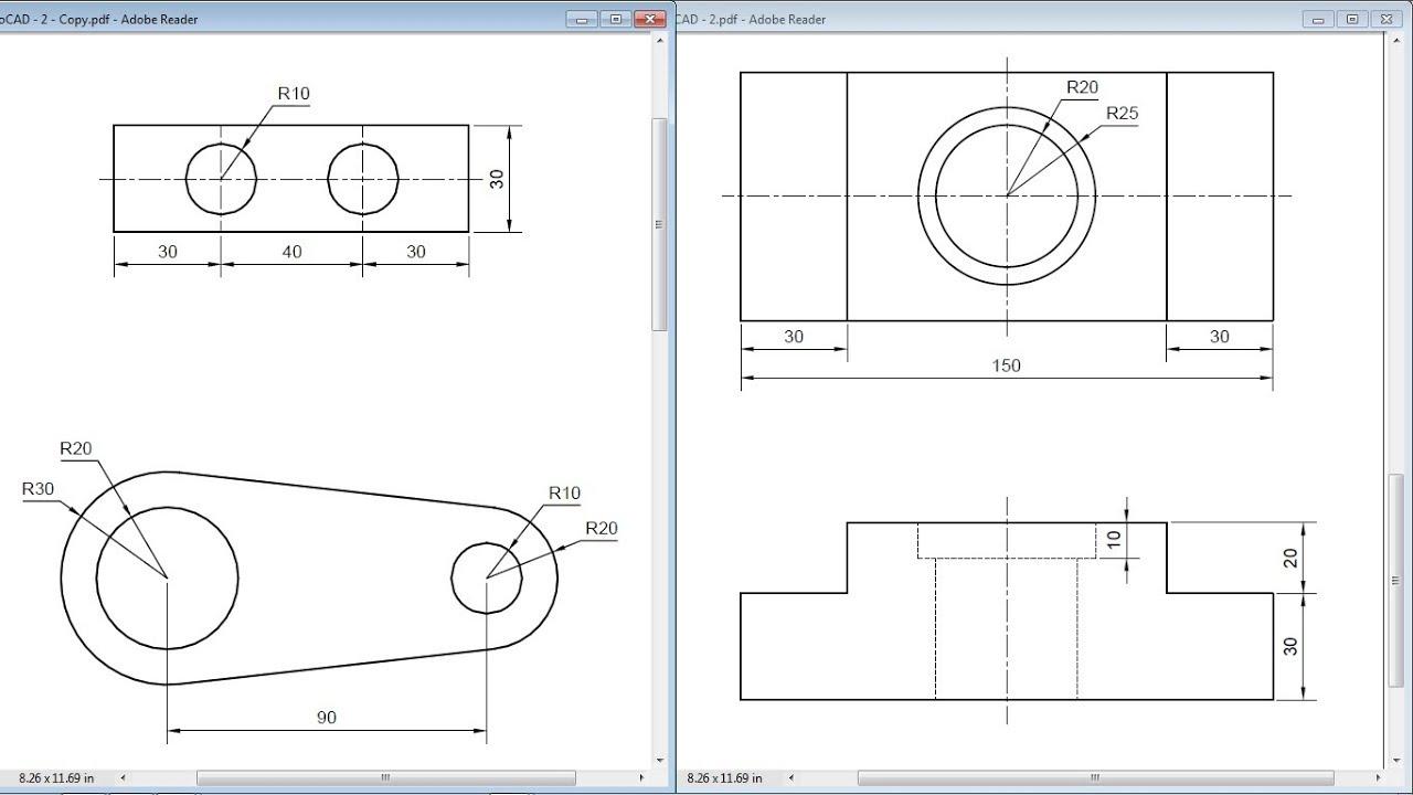 hight resolution of 1280x720 autocad training exercises for beginners autocad basic drawing exercises pdf