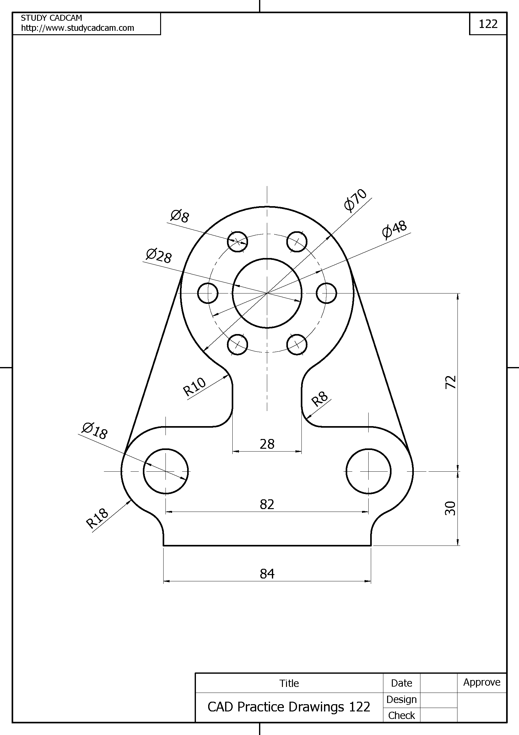 Autocad Mechanical Drawings at PaintingValley.com