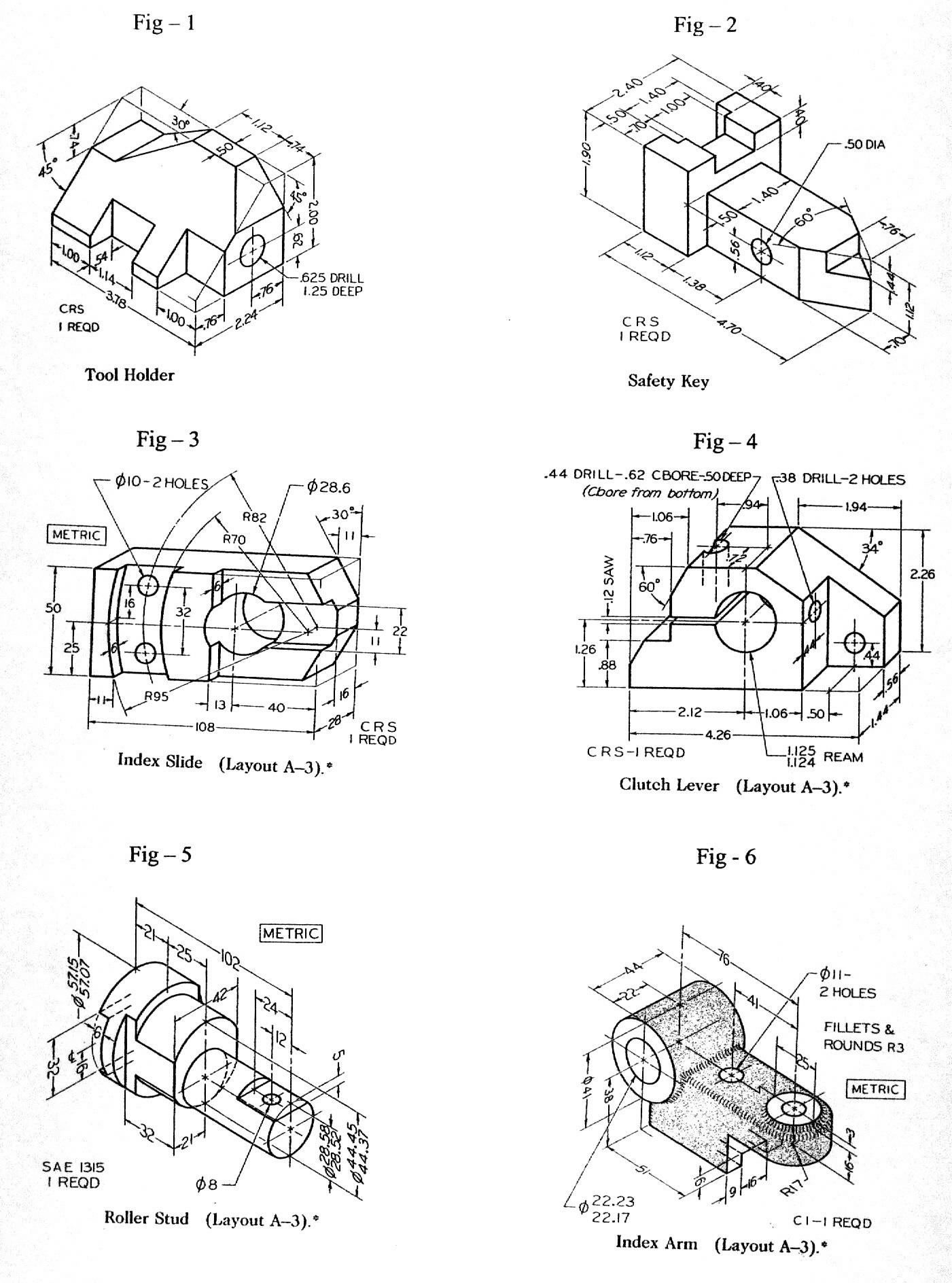 Autocad Mechanical Drawings Samples at PaintingValley.com