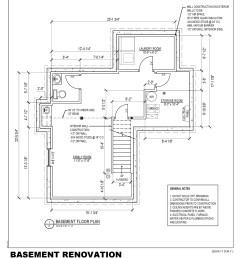 2040x2640 basement permit drawing basement drawing [ 2040 x 2640 Pixel ]