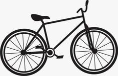 bike cartoon drawing at