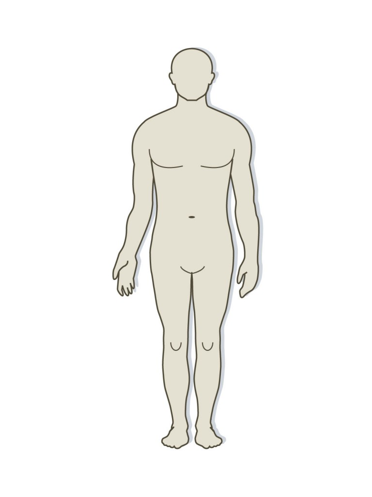 hight resolution of 768x1024 outline drawing of human body blank drawing of human body