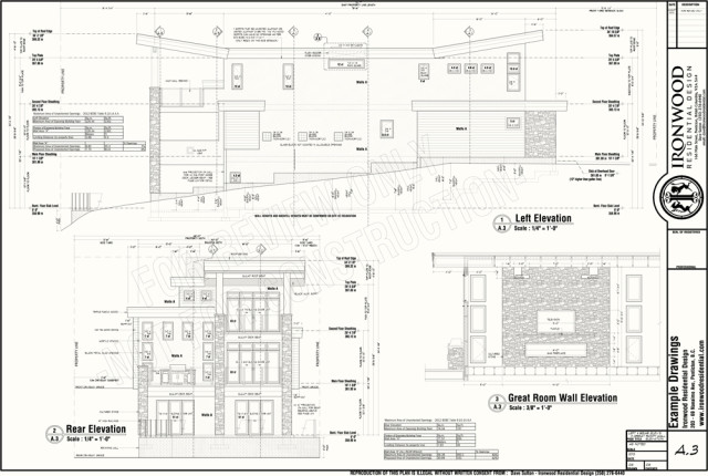 Building Drawing Plan Elevation Section Pdf at