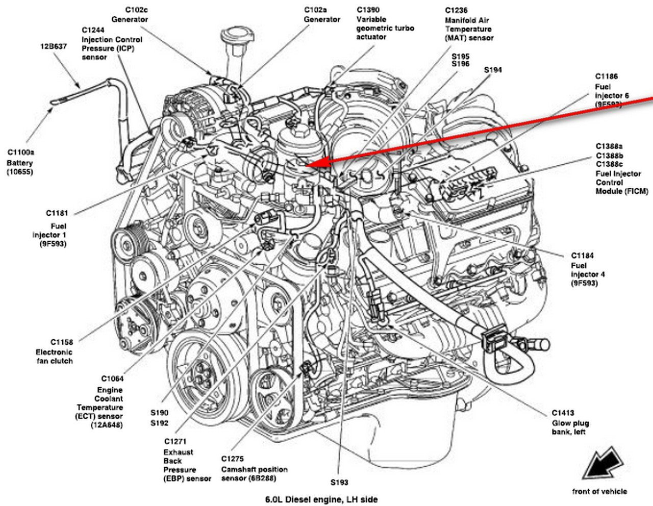 hight resolution of 6 4 diesel engine diagram wiring diagram centre 6 4 diesel engine diagram wiring diagramcar engine
